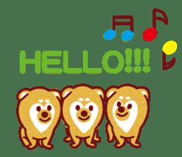 Shiba-Japanese dog! sticker #2110176