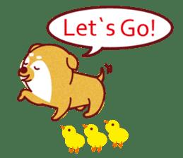 Shiba-Japanese dog! sticker #2110177