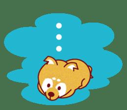 Shiba-Japanese dog! sticker #2110178