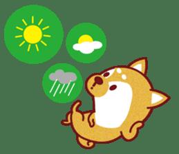 Shiba-Japanese dog! sticker #2110179