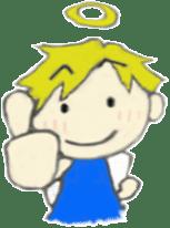 Angel-kun of blue clothing sticker #2110183