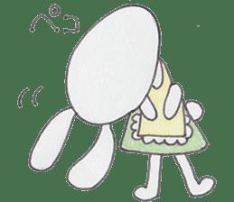 Happy enjoy Rabbit sticker #2110542
