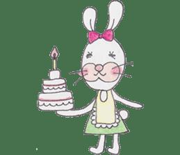 Happy enjoy Rabbit sticker #2110544