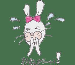 Happy enjoy Rabbit sticker #2110546