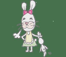 Happy enjoy Rabbit sticker #2110547