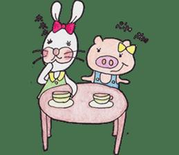 Happy enjoy Rabbit sticker #2110549