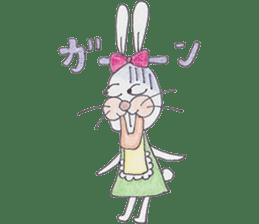 Happy enjoy Rabbit sticker #2110551