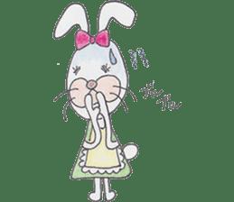 Happy enjoy Rabbit sticker #2110554