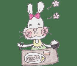 Happy enjoy Rabbit sticker #2110555