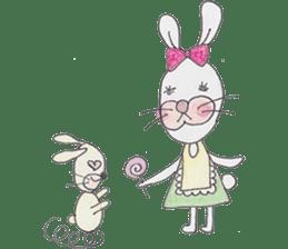 Happy enjoy Rabbit sticker #2110556