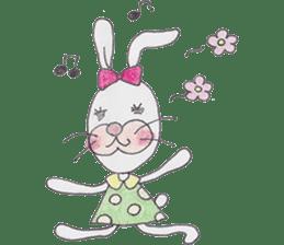 Happy enjoy Rabbit sticker #2110561