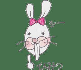 Happy enjoy Rabbit sticker #2110562