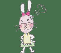 Happy enjoy Rabbit sticker #2110563