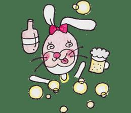 Happy enjoy Rabbit sticker #2110565