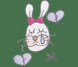Happy enjoy Rabbit sticker #2110567