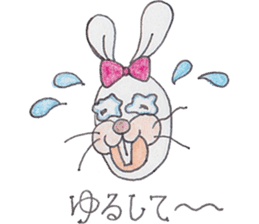 Happy enjoy Rabbit sticker #2110568