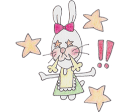 Happy enjoy Rabbit sticker #2110569