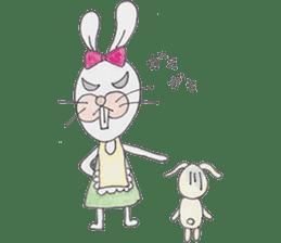 Happy enjoy Rabbit sticker #2110571