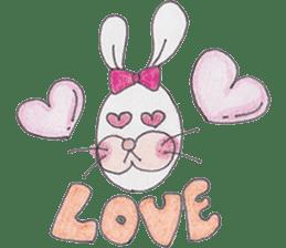 Happy enjoy Rabbit sticker #2110572