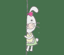 Happy enjoy Rabbit sticker #2110573