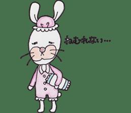 Happy enjoy Rabbit sticker #2110579