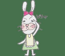 Happy enjoy Rabbit sticker #2110580