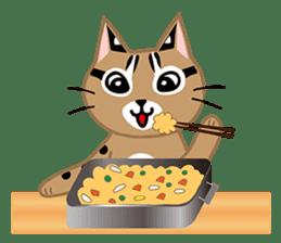 Taiwan Leopard Cat (Food) sticker #2110631