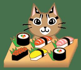 Taiwan Leopard Cat (Food) sticker #2110637