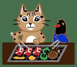 Taiwan Leopard Cat (Food) sticker #2110639