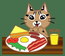 Taiwan Leopard Cat (Food) sticker #2110641