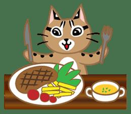 Taiwan Leopard Cat (Food) sticker #2110642