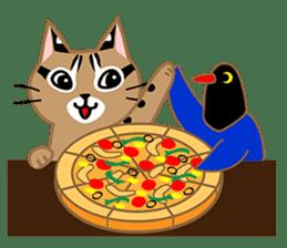 Taiwan Leopard Cat (Food) sticker #2110644