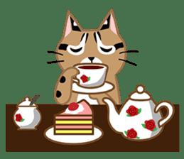 Taiwan Leopard Cat (Food) sticker #2110647