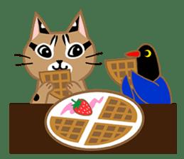 Taiwan Leopard Cat (Food) sticker #2110648