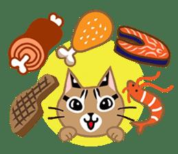 Taiwan Leopard Cat (Food) sticker #2110650