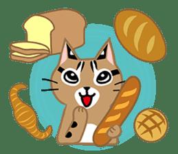 Taiwan Leopard Cat (Food) sticker #2110651