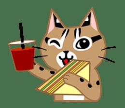 Taiwan Leopard Cat (Food) sticker #2110653