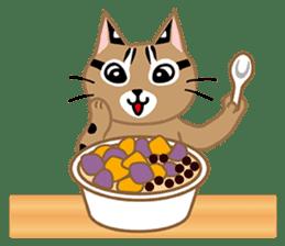 Taiwan Leopard Cat (Food) sticker #2110655