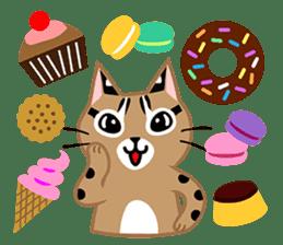 Taiwan Leopard Cat (Food) sticker #2110656