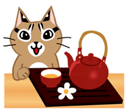 Taiwan Leopard Cat (Food) sticker #2110658