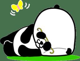 Dar-pan (panda of nihilistic) sticker #2111027