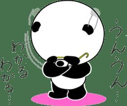 Dar-pan (panda of nihilistic) sticker #2111030