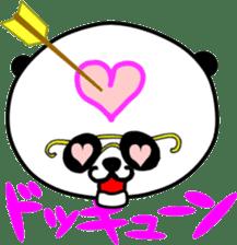 Dar-pan (panda of nihilistic) sticker #2111038