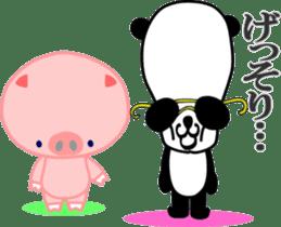 Dar-pan (panda of nihilistic) sticker #2111039
