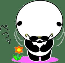 Dar-pan (panda of nihilistic) sticker #2111044