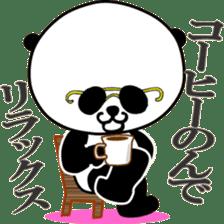 Dar-pan (panda of nihilistic) sticker #2111052