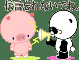 Dar-pan (panda of nihilistic) sticker #2111056