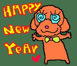 Toy poodle no.1 sticker #2111710
