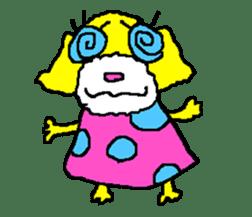 Toy poodle no.1 sticker #2111720