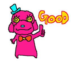 Toy poodle no.1 sticker #2111727